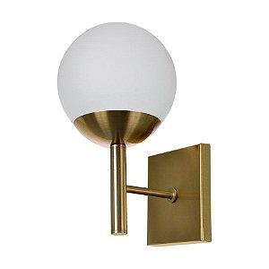 Arandela Globo cor Bronze