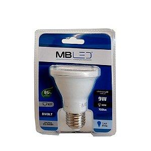 Lampada de LED PAR20 9W 6000K