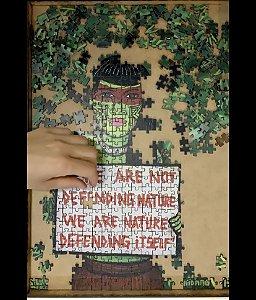 """""""WE ARE NATURE"""" - QUEBRA-CABEÇAS MUNDANAS - 500 peças"""