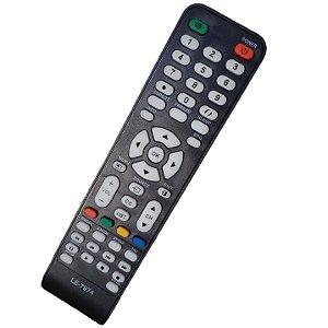 Controle Remoto Universal Tv Cce Led Lcd Rc-512 Lcd Led Stile D4201 D32 D37 D42