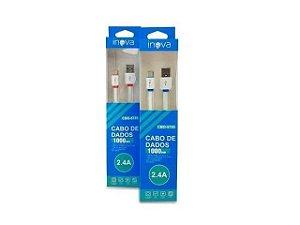 CABO DE DADOS USB 2.4A P/ CELULAR TIPO-C CBO-5755
