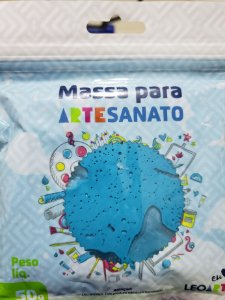 MASSA DE EVA 50GR AZUL 88028