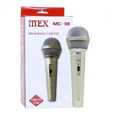 MICROFONE DINAMICO COM FIO UNIMEX MC-106