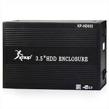 GAVETA EXTERNA CASE P/ HD 3.5 SATA NOTEBOOK PC 3.5 USB 2.0 - KP-HD002