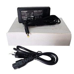 Fonte Carregador Notebook Hp 18.5v 3.5a 65w 4.8x1.7mm / Compaq Evo / Compaq Presario / HP Pavilion / HP Compaq