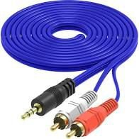 CABO DE AUDIO E VIDEO P2 X 2RCA C/1,5M MB71015     MB81015