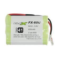 Bateria Universal Para Telefone Sem Fio 600mah 3,6v Fx-60u