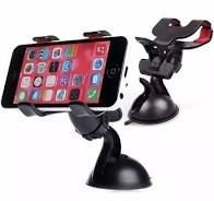 Suporte Universal para Smartphone/GPS/IOS Clipe Duplo com Succao 70mm EXBOM - SP-26