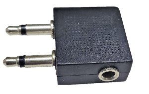ADAPTADOR P3 FEMEA PARA 2 P2 MACHO 3,5MM OEM