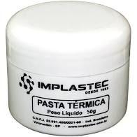 PASTA TERMICA IMPLASTEC POTE C/50G