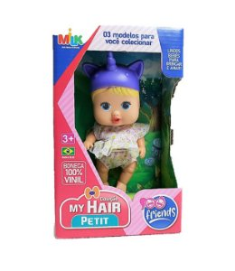 BONECA MY HAIR UNICORNIO CX 23CM 446