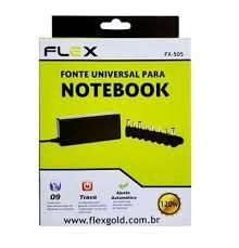 CARREGADOR ADAPTADOR NOTEBOOK FLEX REF:FX-505A