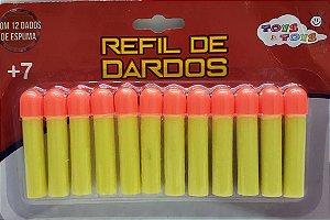 REFIL DE DARDOS C/12PCS 422824
