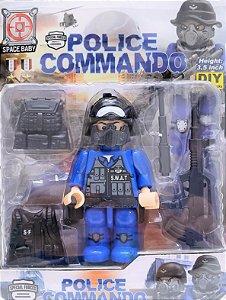 POLICE LEGO COMANDO KY-B36