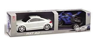 CARRO MXT 2.0 METAL.REBOQUE C/MOTO CX 61CM 1292