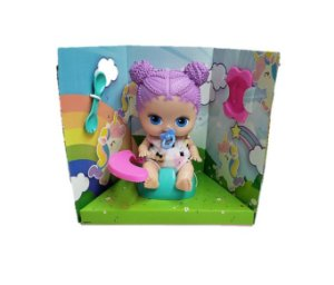 BONECA COL.LIL'CUTESIES SORT.CX 23CM 2313