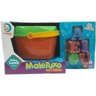 MALETUXO DIDATICO COM LETRAS 19CM 3036