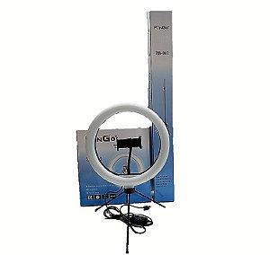RING LIGHT KINGO 2.1MT ZB-001 C/ 2 TRIPE E SUPORTE CELULAR