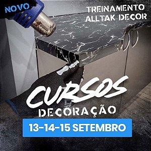 TREINAMENTO ALLTAK DECOR-  13,14 e 15 de Setembro - Guarulhos - SP