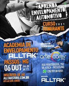 ACADEMIA DE ENVELOPAMENTO - LOJA ARTE CORES MINAS GERAIS - 06 DE OUTUBRO