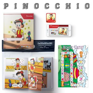 Reader Pack - Level 2 - Pinocchio