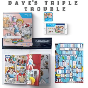 Reader Pack - Level 5 - Dave's Triple Trouble