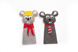 The Country Mouse and the Town Mouse - Finger Puppet - Kit