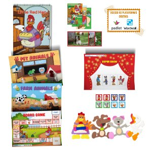 Little Red Hen - Storytelling Kit
