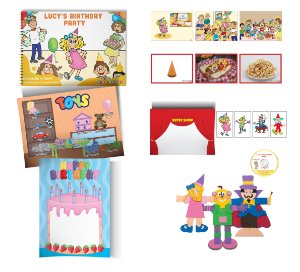 Lucy's Birthday Party - Storytelling Kit