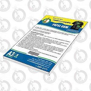Papel OBM A3 pct c/5 Folhas Acetinado