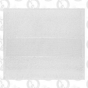Toalha Mini Lavabo C/Franja Branca