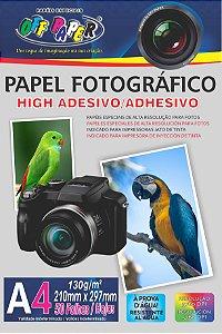 PAPEL FOTOGRAFICO ADESIVO OFF PAPER A4 130G PCT C/50 FLS