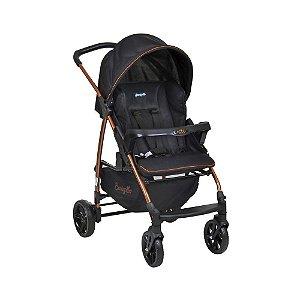 Carrinho de Bebê Travel System Ecco Preto Cobre - Burigotto