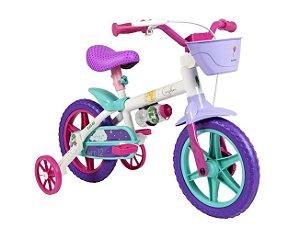 Bicicleta Infantil Cecizinha Menina / Bike Criança Power Rex Menino Aro 12 - Caloi