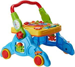 Andador Interativo Infantil com Som 4 Em 1 - Maral