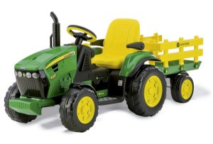 Mini Trator Elétrico Infantil John Deere Ground Force - Peg Perego