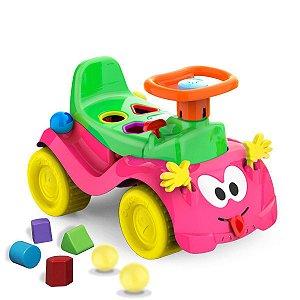 Andador Bebe Carrinho Totoka Infantil Rosa - Cardoso toys