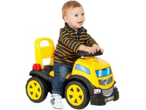 Andador Infantil Caminhão de Brinquedo Bebe 3 Em 1 Blocks Truck In Ride - Cardoso Toys