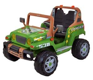 Mini Veículo Elétrico Ranger 538 12V Verde - Peg-Pérego