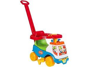 Andador Infantil Totoka plus menino protetor lateral - Cardoso Toys