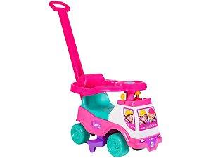 Andador Totoka Infantil plus menina protetor lateral - Cardoso Toys