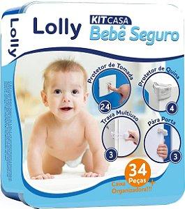 Kit Segurança para Bebê Casa Segura C/34 Peças - Lolly