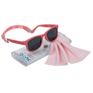 Óculos de Sol Infantil Menina Bebe Alça Ajustável proteção Raios UV - Buba