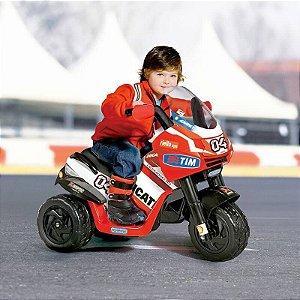 Mini Moto Elétrica Infantil Ducati Desmosedici 6V Peg-Pérego