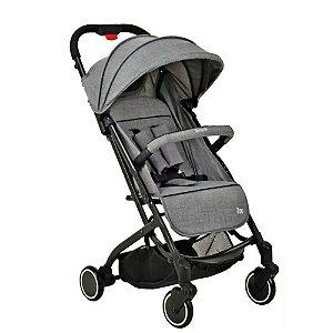 Carrinho de Passeio Infantil Bebê Zap Gray - Burigotto