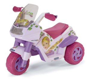 Mini Moto Elétrica Menina Raider Princess 6V - Peg-Pérego