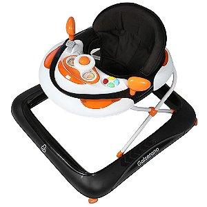 Andador Infantil Para Bebê Menino Menina com regulagem Liam Black - Galzerano