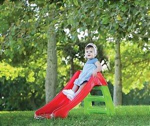Brinquedo Playground Escorregador Infantil Bebê 2 Degraus - BelBrink