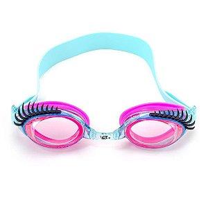 Óculos Natação Infantil Menina Charming azul Aquamarine - Speedo