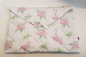Necessaire Porta Lingerie Flamingo